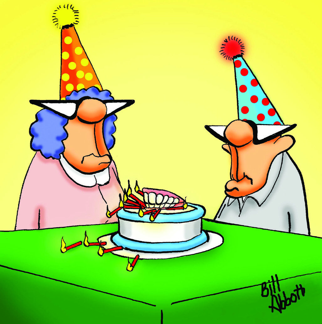 Cartoon by Bill Abbot