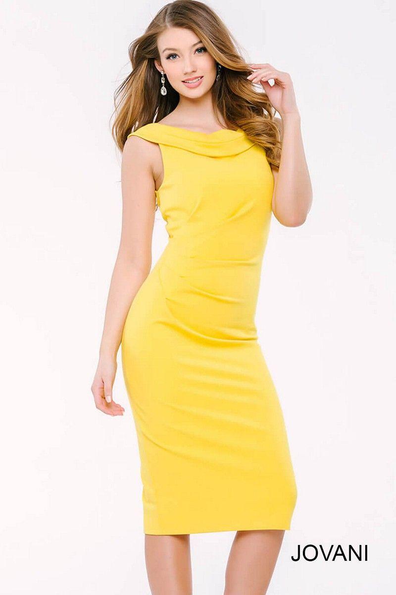 Jovani 39349 Short Dress | Yellow Pages | Pinterest | Short dresses ...