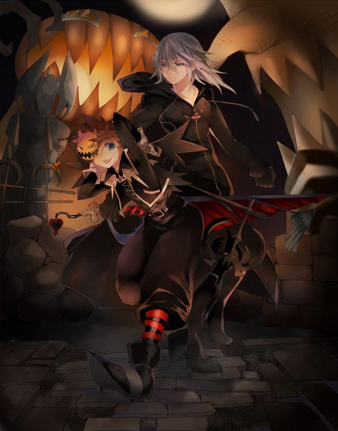 Pixiv Id 318818, SQUARE ENIX, Disney, Kingdom Hearts II, Kingdom Hearts, Sora (Kingdom Hearts)