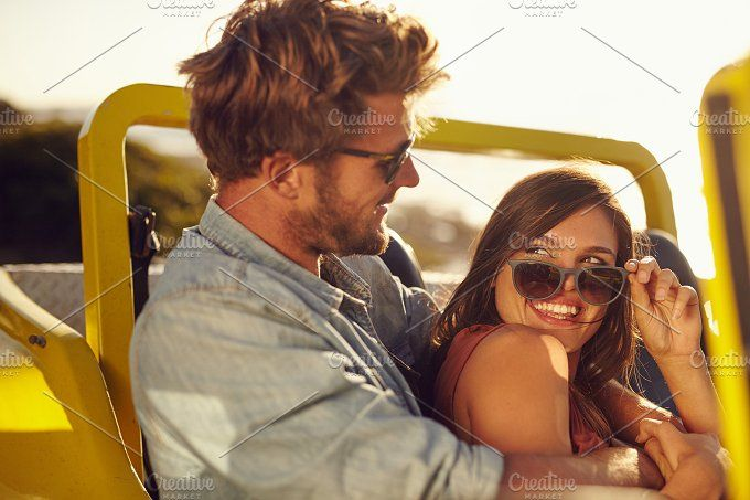 Romantic young couple having fun by Jacob Lund Photography on @creativemarket