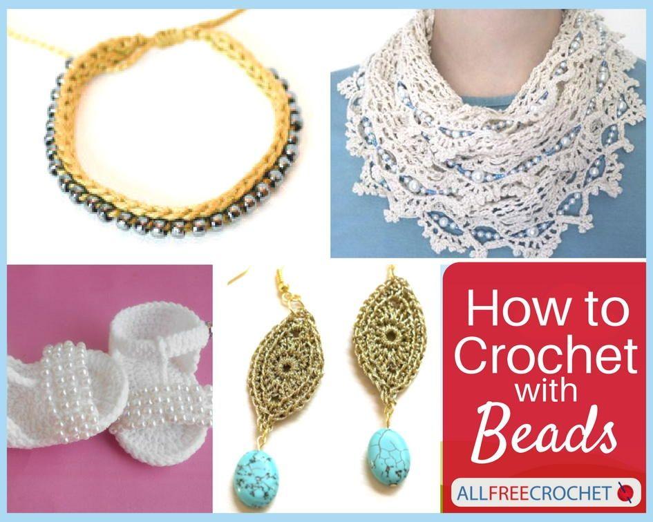 Crochet With Beads 44 Bead Crochet Patterns Crochet Jewelry