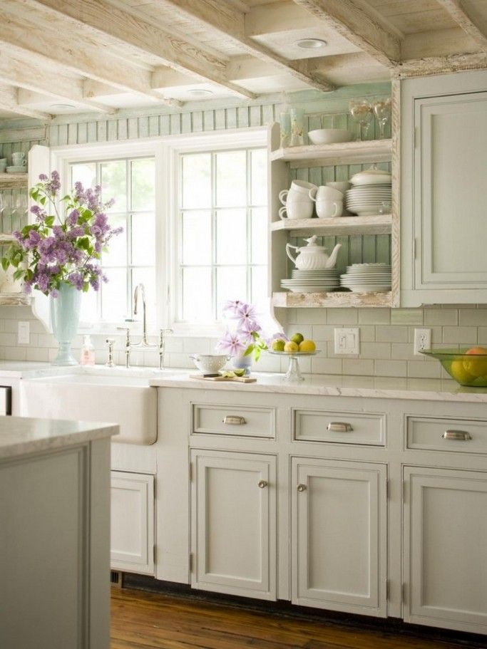 Cottage Style Kitchen Designs Glamorous Vintage Cottage Decorating Ideas  Cottage Style Kitchen Vintage Inspiration Design