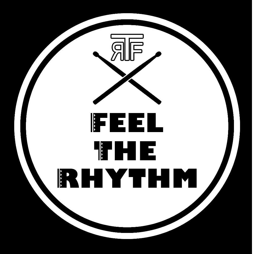 Feel The Rhythm Logo Drums Logo Band Logos Logos