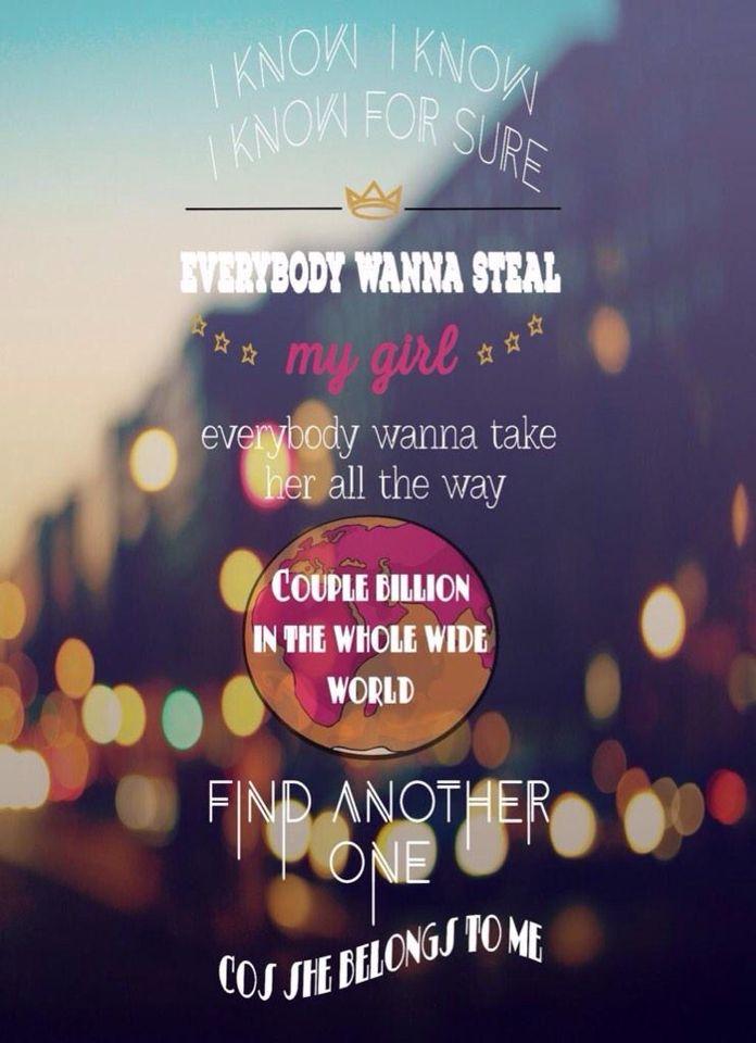 Steal My Girl | Lyrics | Pinterest | Songs, Zayn and 5SOS