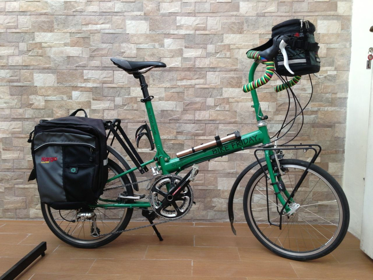 Bike Friday Pocket Rocket Green Sepeda