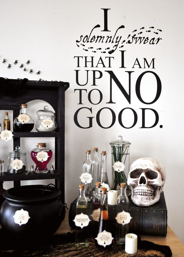 a magical harry potter birthday party birthday parties. Black Bedroom Furniture Sets. Home Design Ideas