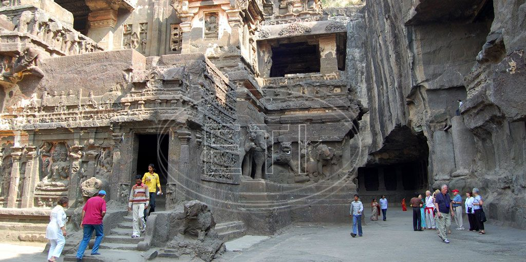 The Ajanta and Ellora Caves hold some of the earliest and most elaborate Buddhist, Jain, and Hindu artwork in India. For lovers of art, architecture. http://www.easytoursofindia.com/ajanta_ellora.htm