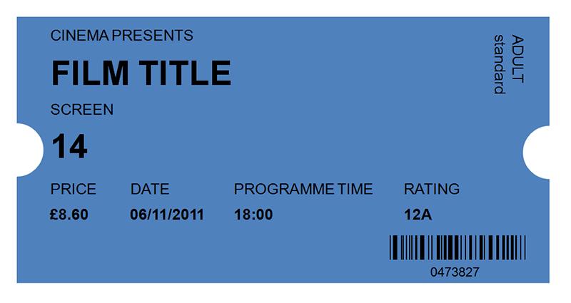 30 Free Movie Ticket Templates Printable Word Formats Movie Ticket Template Free Movie Tickets Ticket Template