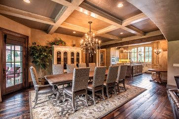 French Country Custom Springfield Mo Traditional Dining Room