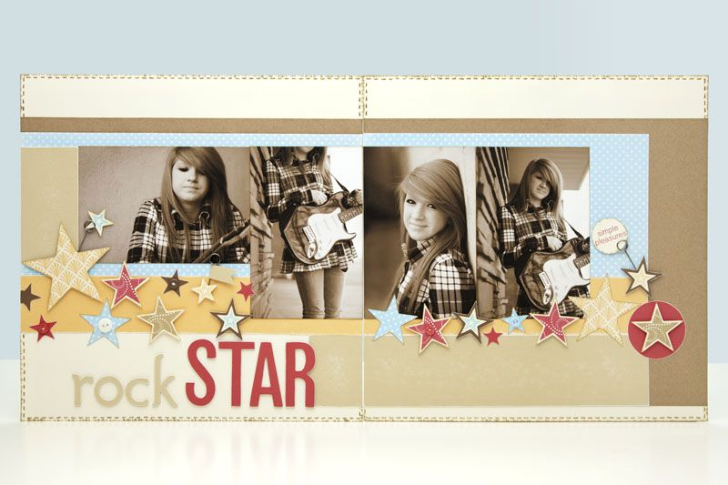 A link to instructions to make your own star shapes with the Cricut® Art Philosophy cartridge! #CTMH
