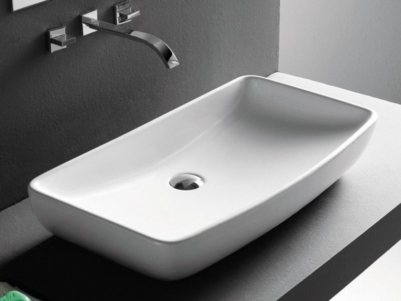 Infinite Ceramic Vanity Basin 705x380x130mm 260 Renovation Ideas Pintere