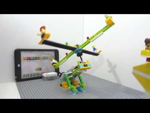 Lego Wedo 20 Airplane El Avin De Viktor Youtube Wedo