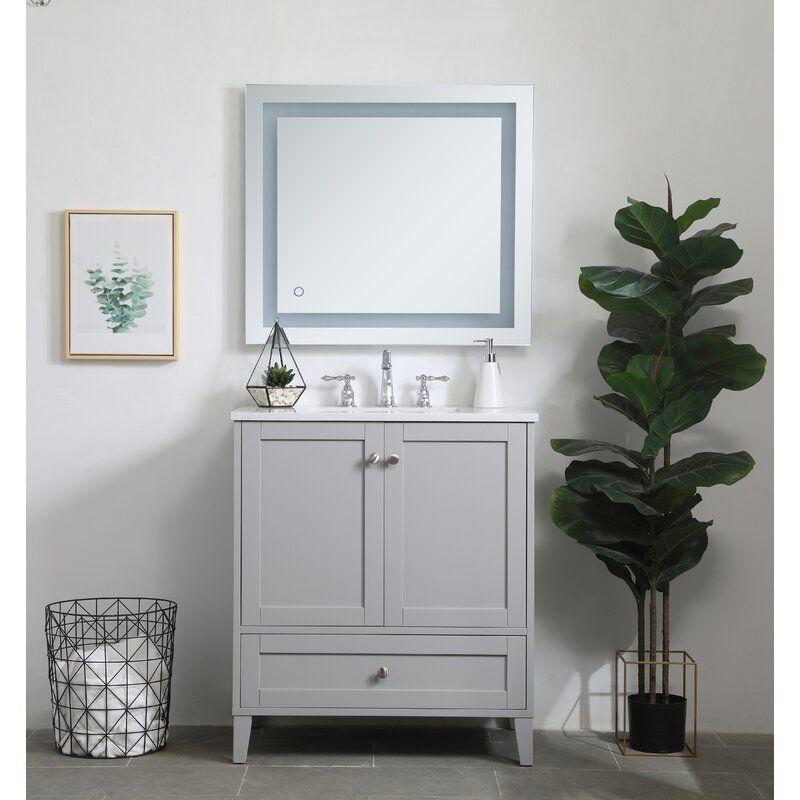 Beachcrest Home Georgina 30 Single Bathroom Vanity Set Reviews Wayfair In 2020 Bathroom Vanity Single Bathroom Vanity Vanity Set