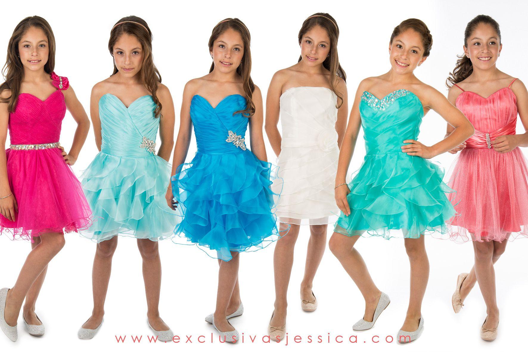 Vestidos de fiesta para juniors