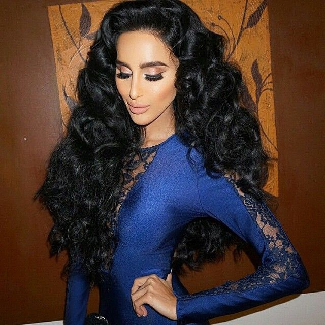 The princess herself lilly ghalichi salys in her bellami jet the princess herself lilly ghalichi salys in her bellami jet black lilly hair 260g pmusecretfo Choice Image