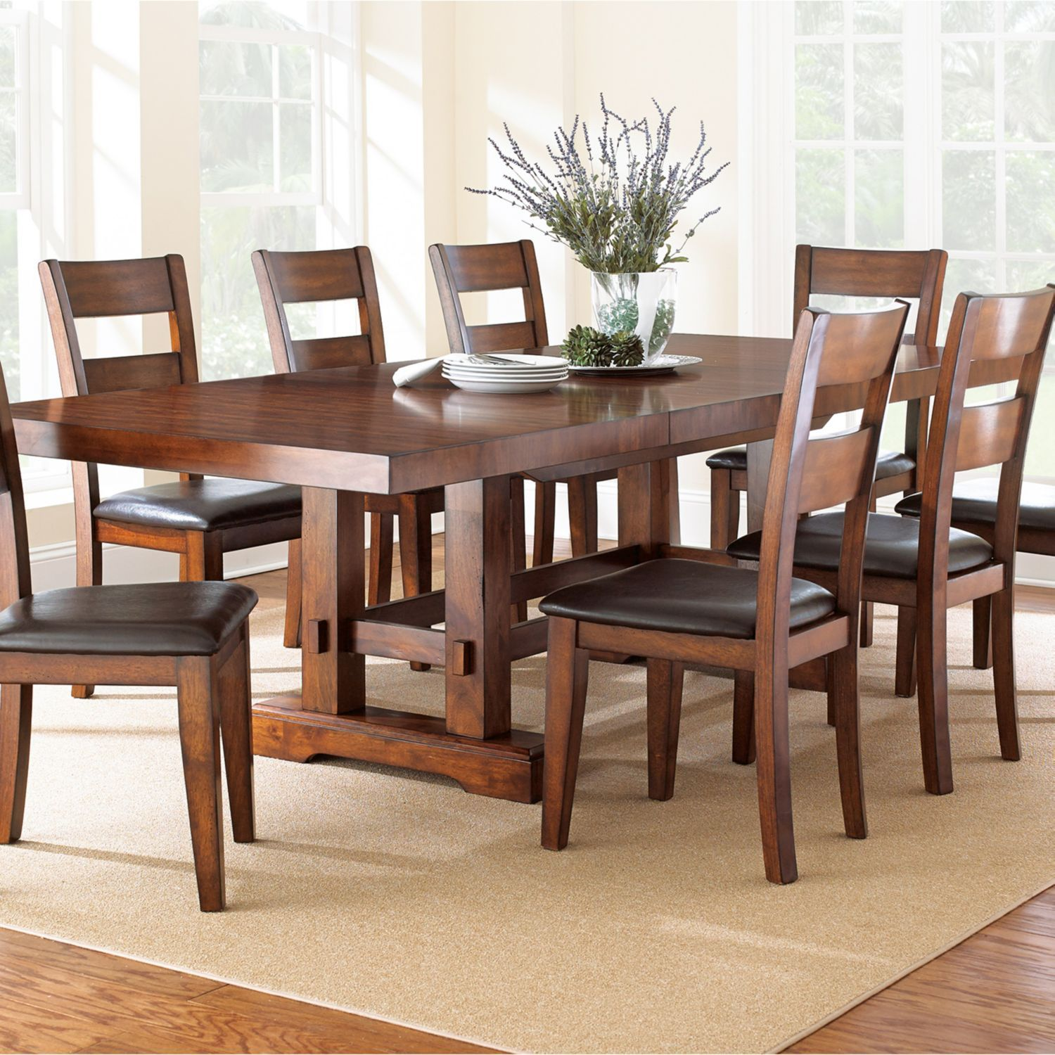 Room · Ziva Dining 9 Piece Set ...