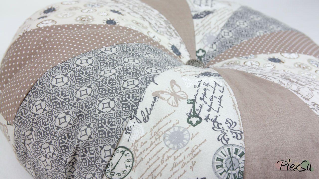FeeBook Schnittmuster Rundes Kissen | nähen | Pinterest