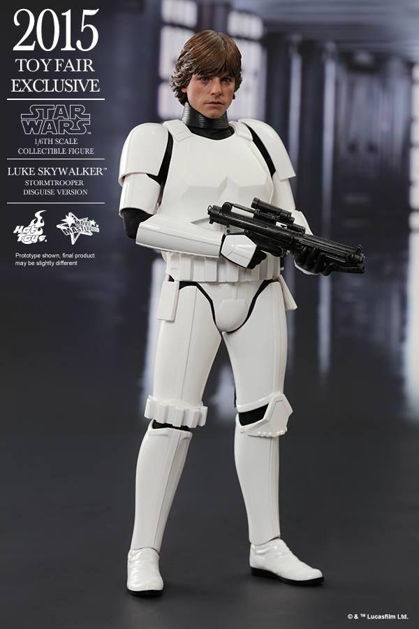 HOT TOYS 2015 Toy Fair Exclusive: 1/6 LUKE SKYWALKER Stormtrooper Disguise Version. Official PHOTO REVIEW, Full Info http://www.gunjap.net/site/?p=260359
