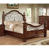 Found it at Wayfair - Lorrenzia Four Poster Bedroom Collection