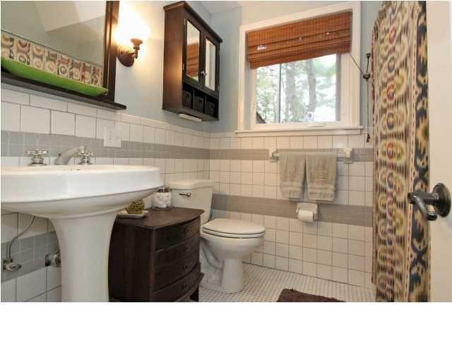 nice tile job on home for sale