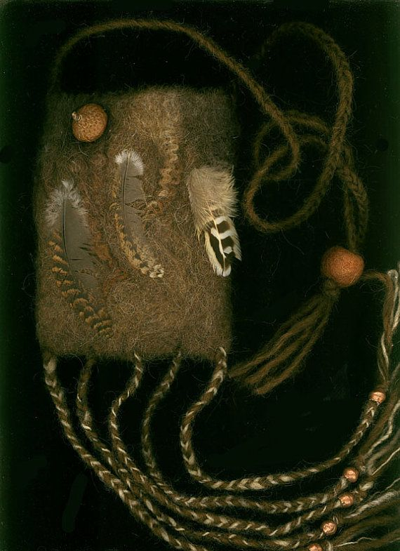 Wald Primeval – Rückkehr - nass Gefilzte Tasche