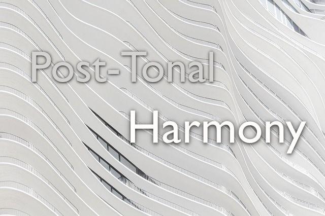Post-Tonal Harmony in 2020 | Tonal harmony, Music theory ...