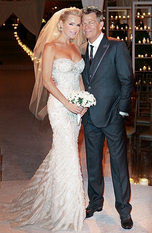 42 Town Hhh David Foster Yolanda Hadid P Wedding Dresses Celebrity Wedding Dresses Celebrity Bride