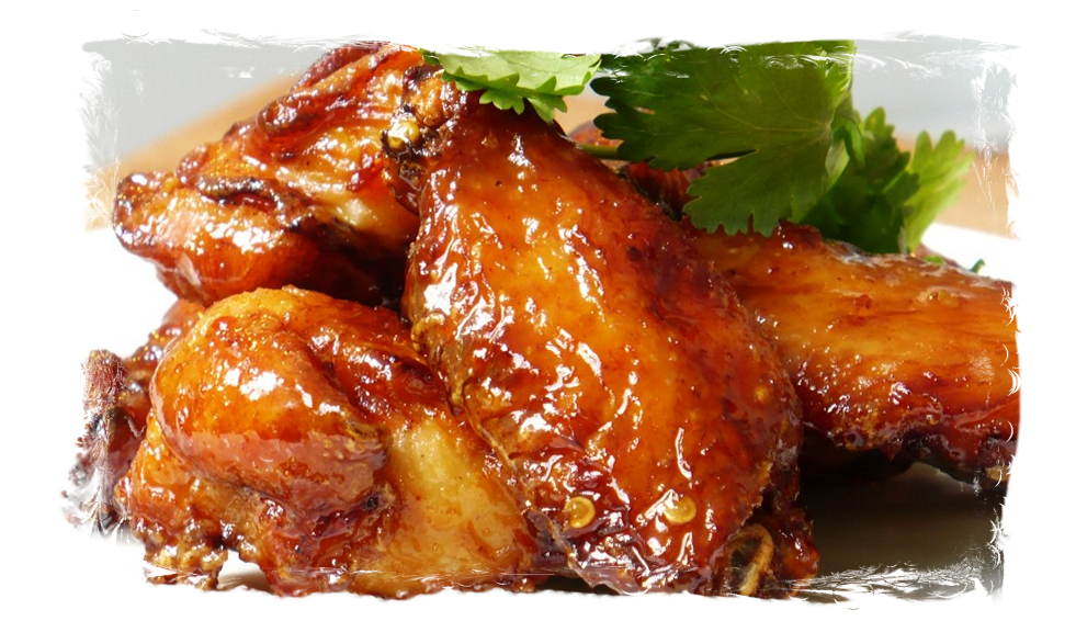 Village....  Blue Ridge Bob's Wings.  Available after 2 PM