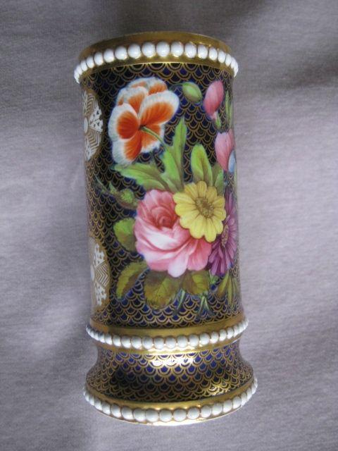 Spode 1166 Pattern Spill Vase English Antique Porcelain Pottery