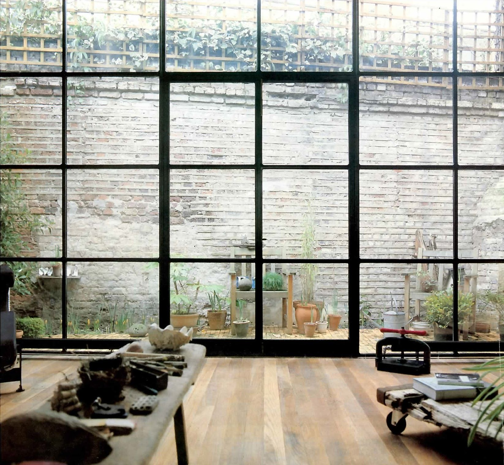 Extension Black Grid With Images Crittal Windows