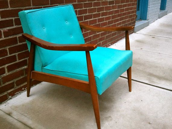 Merveilleux 1960s Chair. In Beaumont Our Den Furniture Was A Set Like This. Two Chairs