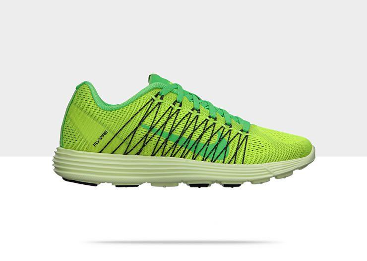 Nike Lunaracer+ 3 Womens Running Shoe Size 9.5 Green. $110