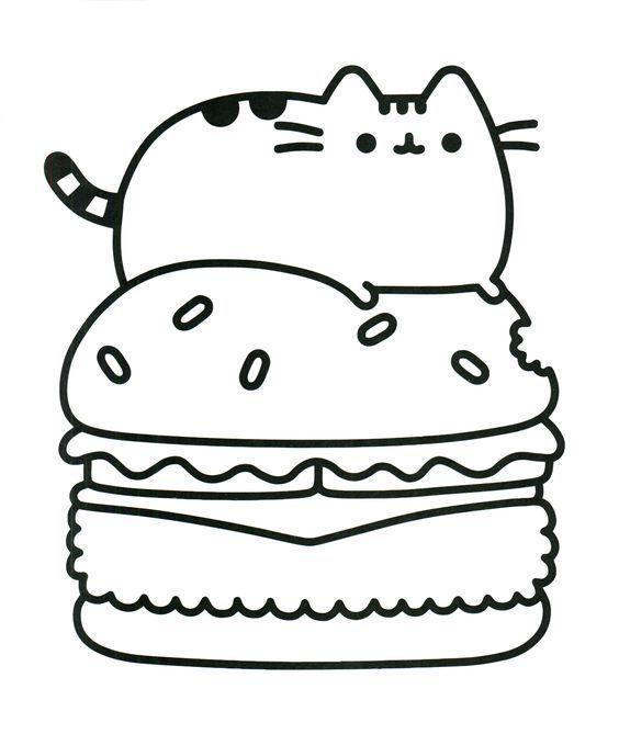 Mas De 100 Imagenes Kawaii Para Descargar Imprimir Y Colorear Dibujos Kawaii Para Imprimir Gatito Para Colorear Dibujos Kawaii