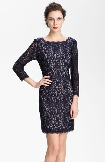 5d3d7dec Mother of the Bride - Adrianna Papell Lace Overlay Sheath Dress available  at Nordstrom in Blush @Debbie Williams