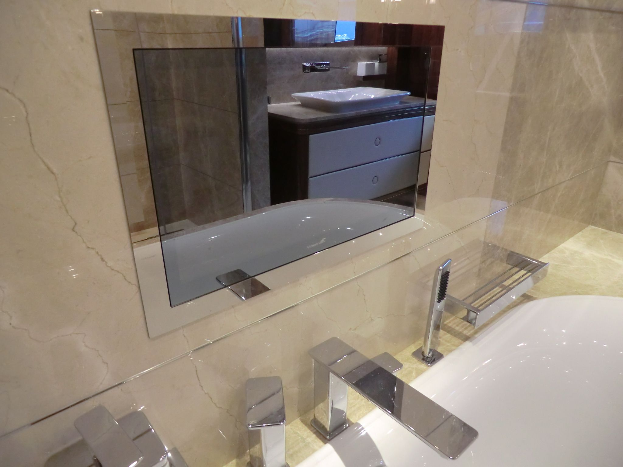 Videotree Waterproof Bathroom Tv In Sunseeker Princess Avk Yacht