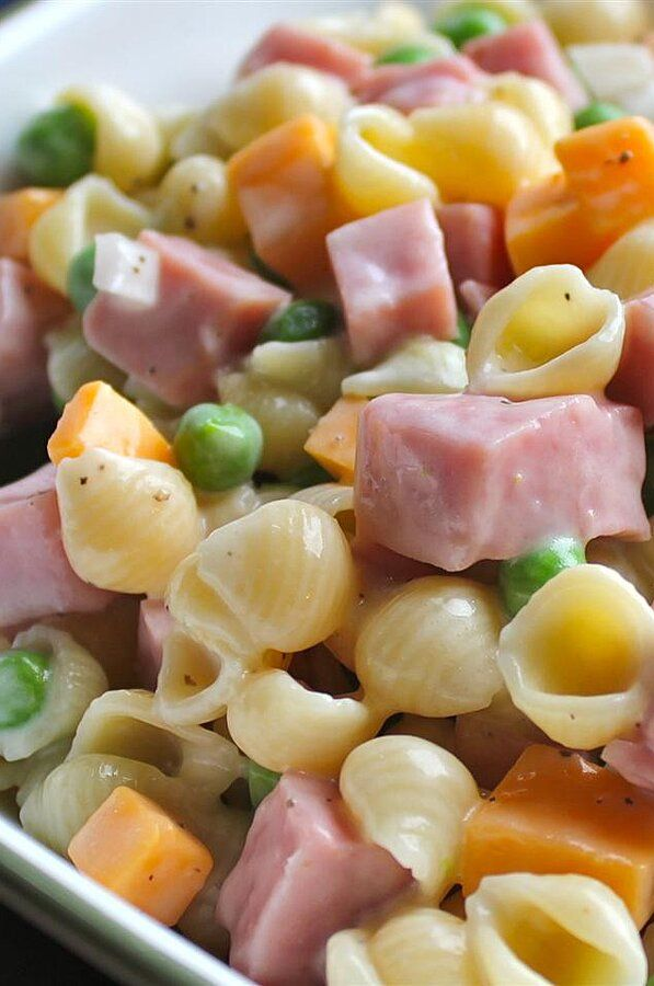 Photo of Ham and Shell Salad