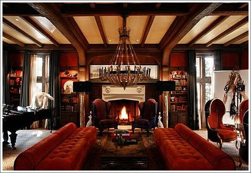 Home Interior Design Using English Tudor Style For Your