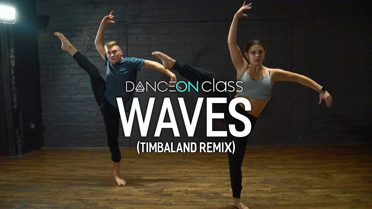 Dean lewis waves timbaland remix erica klein dance