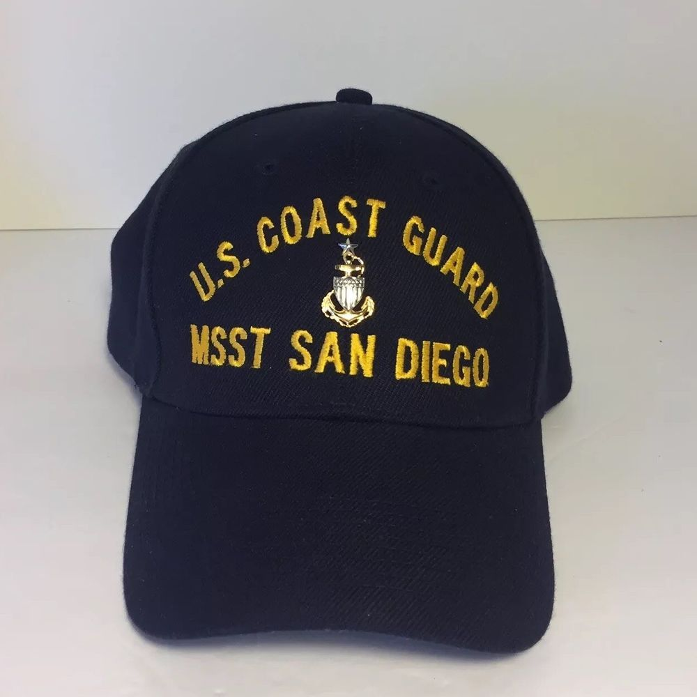 48b68ee1d1442 US Coast Guard MSST San Diego Hat Cap   US Coast Guard Senior Petty Officer  Pin  fashion  clothing  shoes  accessories  mensaccessories  hats (ebay  link)