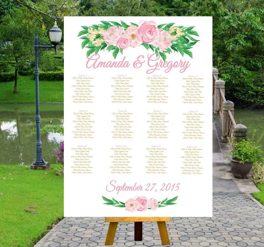 PRINTABLE Wedding Seating Chart Sign, Find Your Seat by inkmebeautiful on Etsy https://www.etsy.com/listing/238604392/printable-wedding-seating-chart-sign