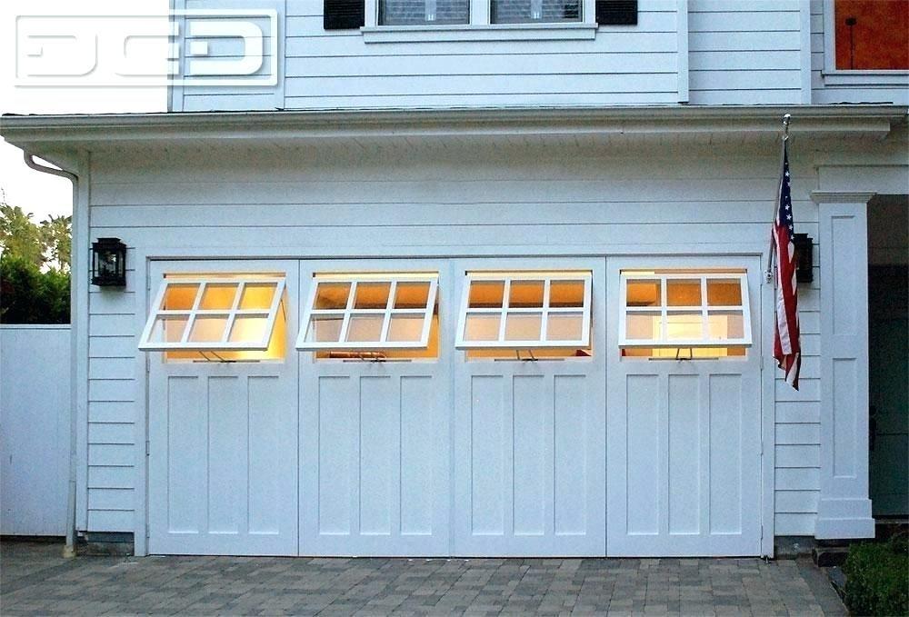 Dynamic Garage Doors Swinging Garage Doors For Sale Swing Open Carriage Garage Door Conversion With Function Garage Doors Garage Door Design Black Garage Doors