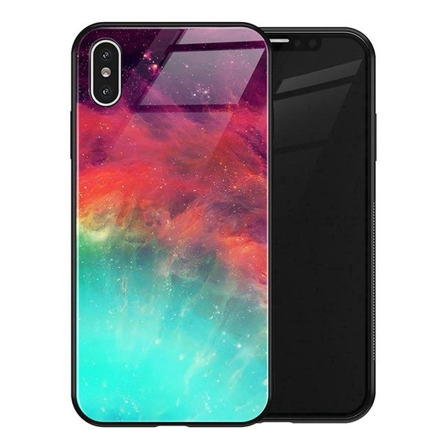 Luxury Space Galaxy Cover Case For Iphone X Xs Max Xr Xs 7 8 Plus 6 6s Hipster Phone Cases Iphone Girl Phone Cases