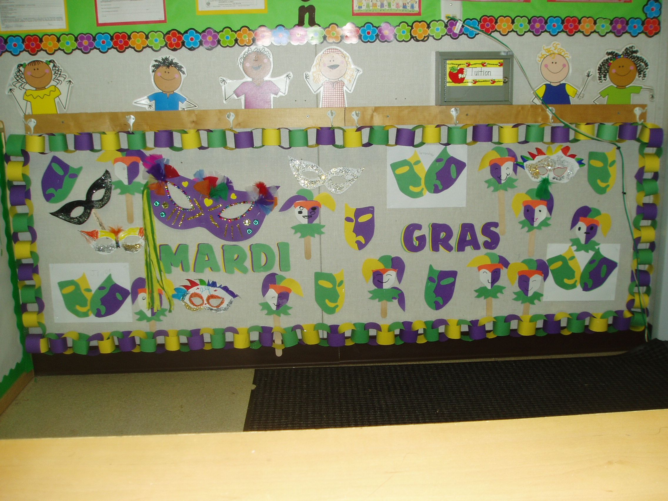 Bulletin Board For Mardis Gras