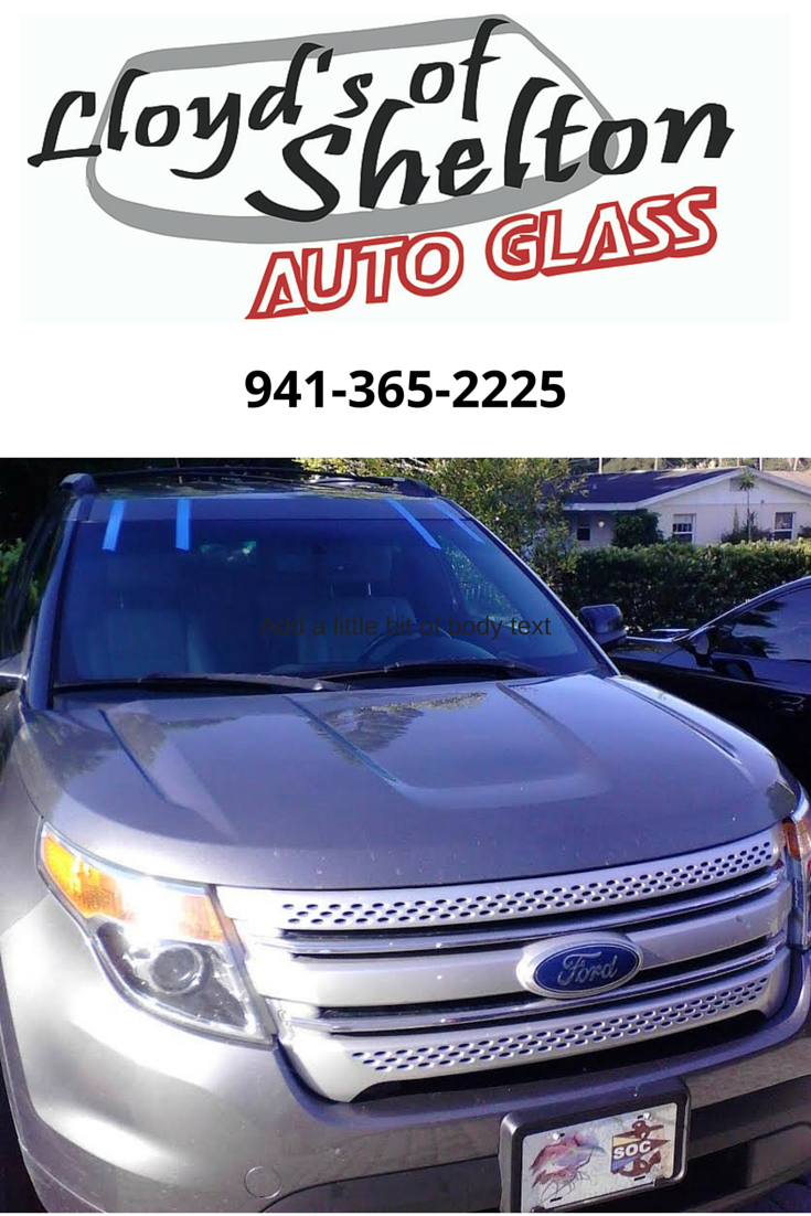 This 2014 Ford Explorer Has A New Windshield Via Our Mobile Service Https Lloydsofshelton Com Blog Auto Gl Auto Glass Repair Glass Repair 2014 Ford Explorer