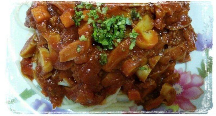 Resepi Spaghetti Bolognese Homemade So Simple Resepi Western Spaghetti Bolognese Bolognese Spaghetti