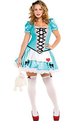 adult wonderful alice costume plus size as of 8182015 - Size 18 Halloween Costumes