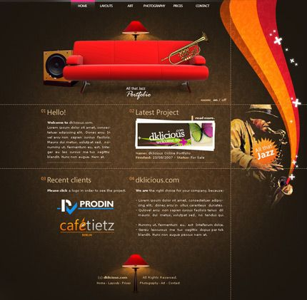 Wonderful Spectacular Web Designs With Unique Layouts 25