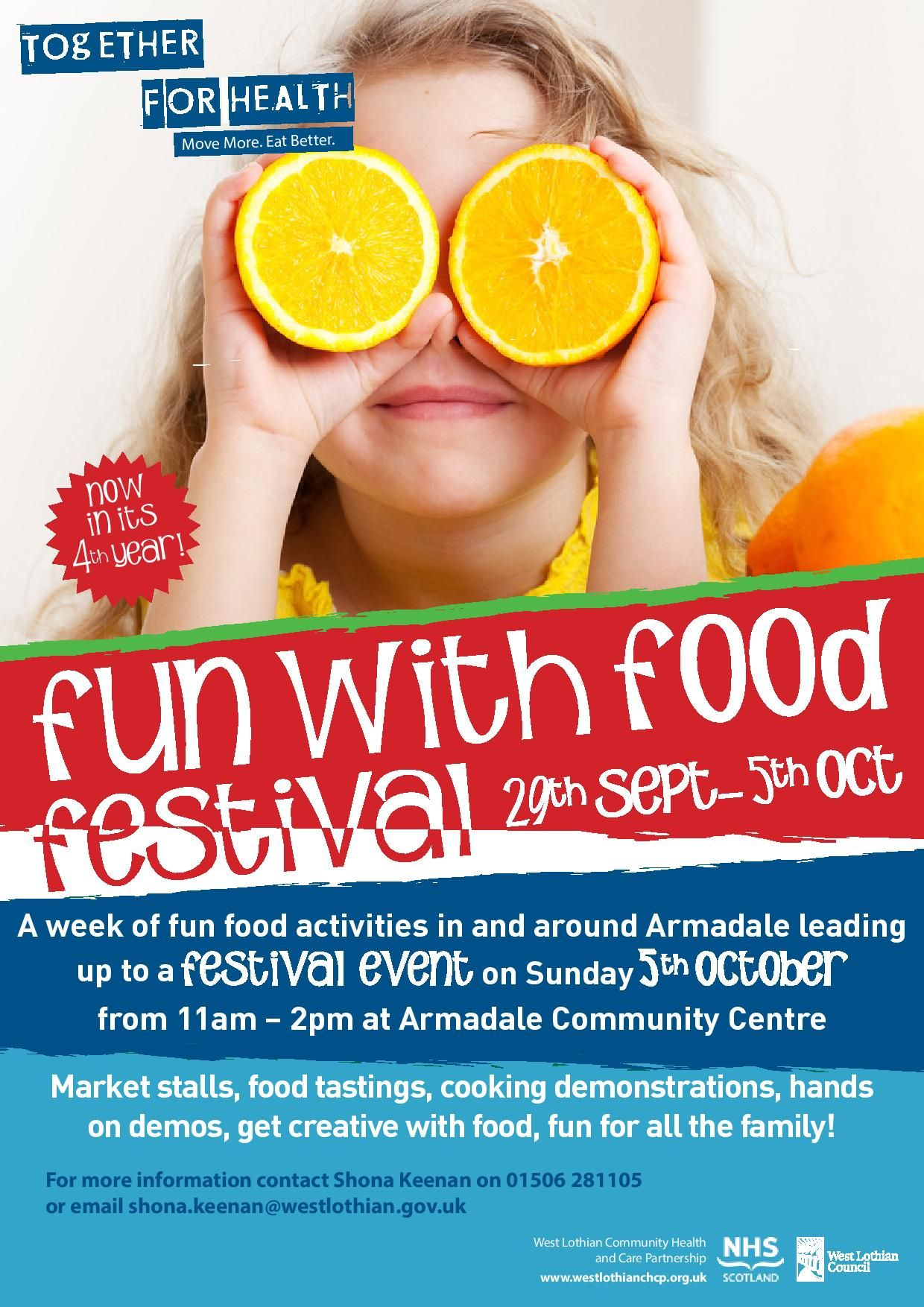 Food Festival Armadale 29th Sept 5th Oct A week of fun