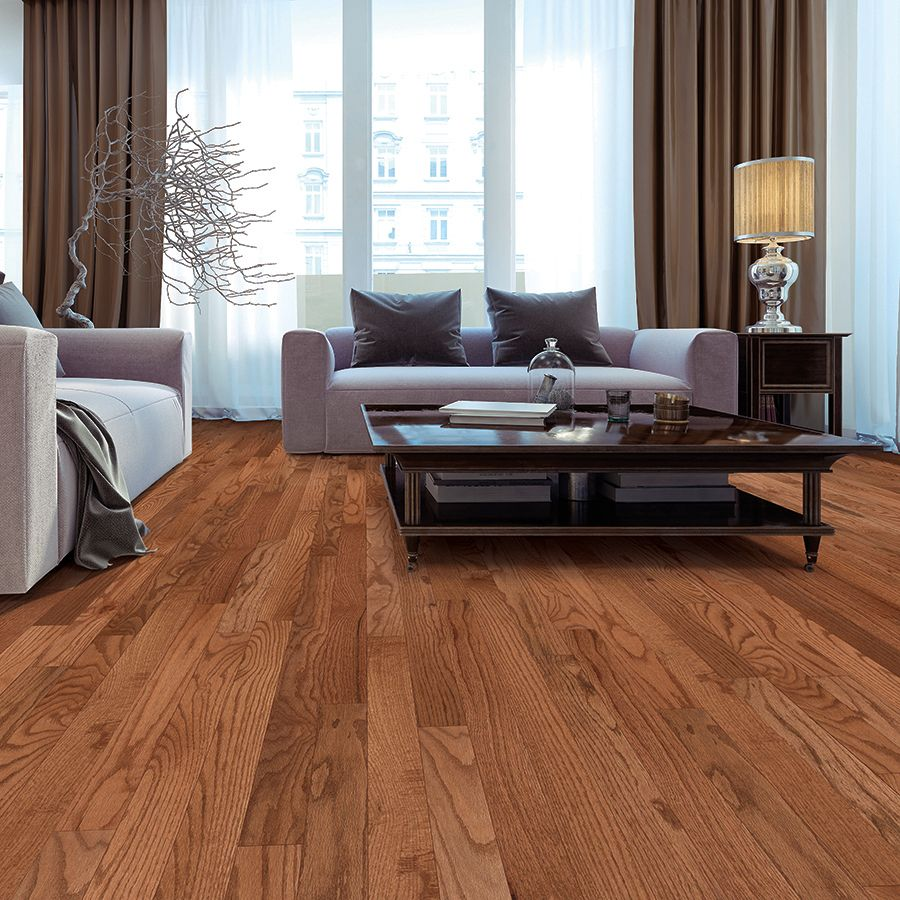 Shop Mohawk 325 In W Prefinished Oak Hardwood Flooring Westchester At Lowes