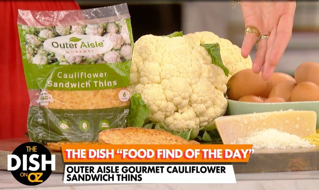 Dr Oz S Food Find Of The Day Outer Aisle Cauliflower Sandwich